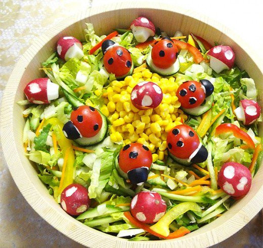 Salads For Easter  Amazing Easter Food Ideas