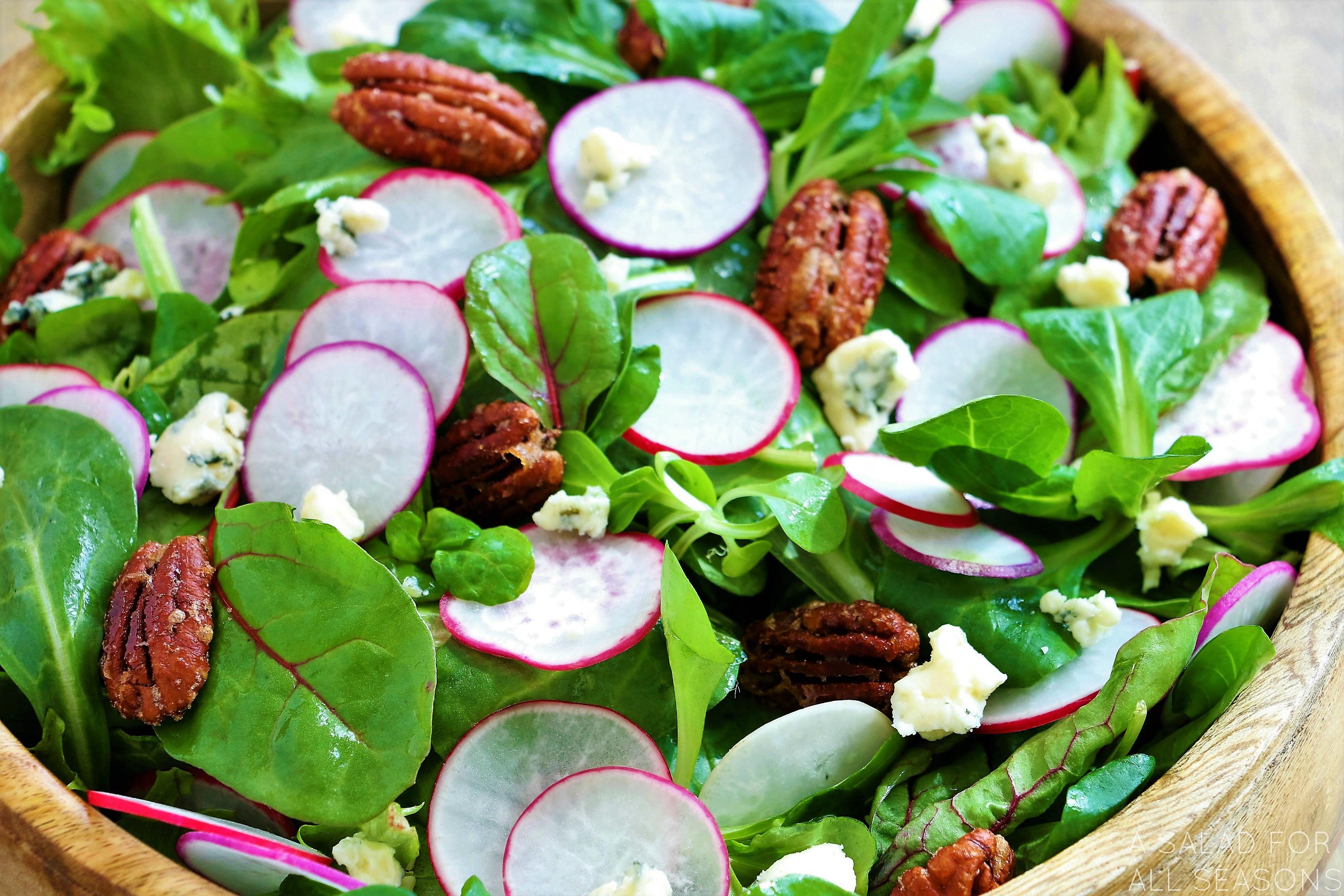 Salads For Easter  Easter Egg Radish Salad
