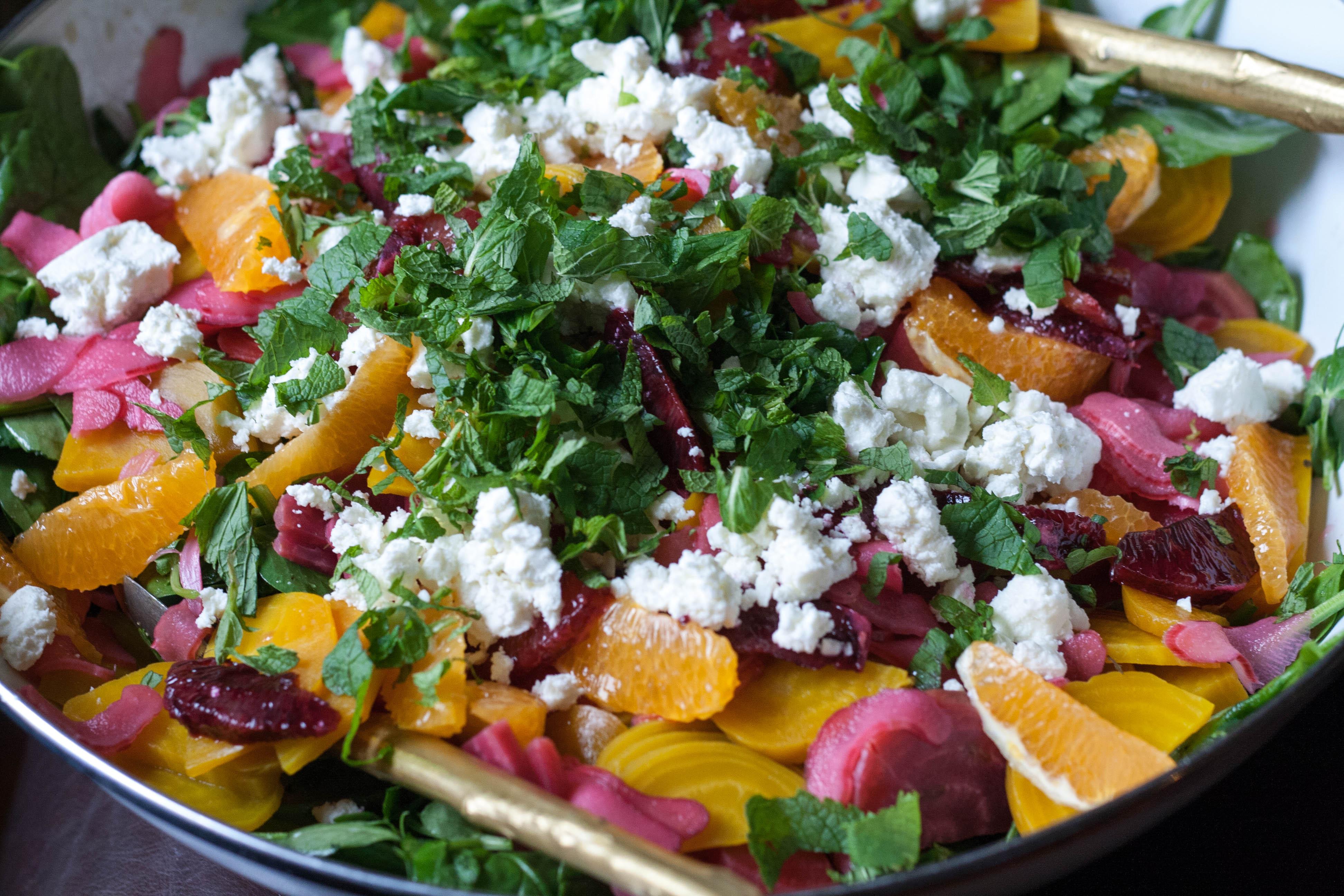 Salads For Easter  Easter Egg Beet and Citrus Salad