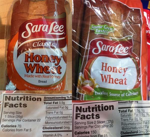 Sara Lee Gluten Free Bread  Sara Lee Wheat Bread Nutrition Facts Nutrition Ftempo