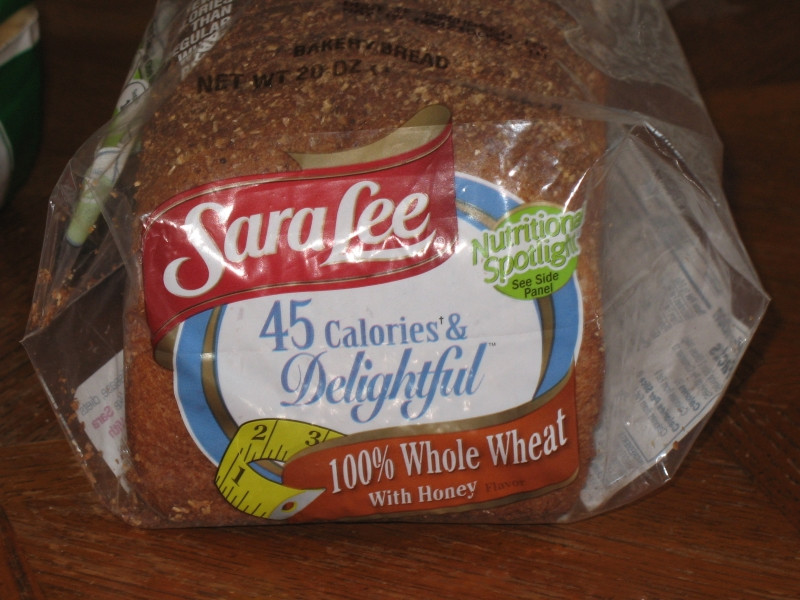 Sara Lee Gluten Free Bread  Review Sara Lee 45 Calories and Delightful Whole