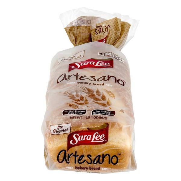 Sara Lee Gluten Free Bread  Sara Lee Artesano Bakery Bread from Smart & Final Instacart