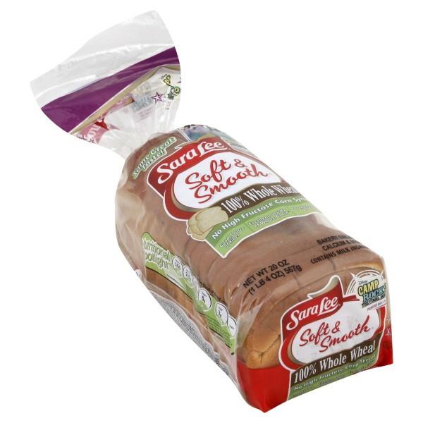 Sara Lee Gluten Free Bread  Sara Lee Soft & Smooth Bread Whole Wheat