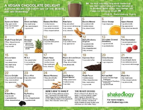 Shakeology Vegan Chocolate Recipes  Pinterest • The world's catalog of ideas