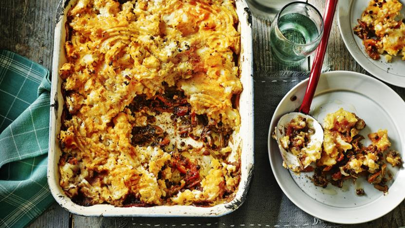 Shepards Pie Vegetarian  Veggie shepherd's pie recipe BBC Food