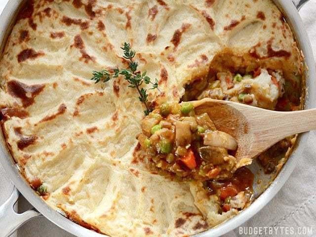 Shepards Pie Vegetarian  Ve arian Shepherd s Pie Bud Bytes