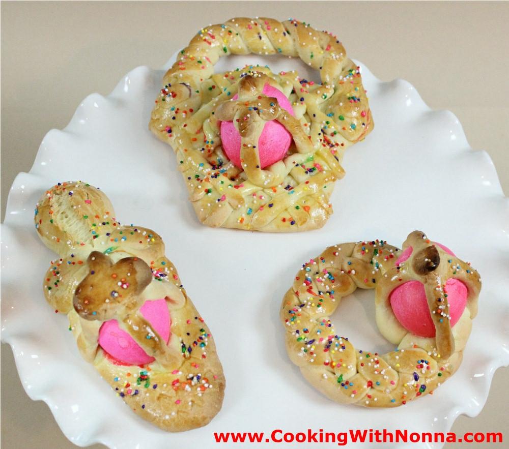 Sicilian Easter Bread  Easter Bread Gurrugulo Scarcella