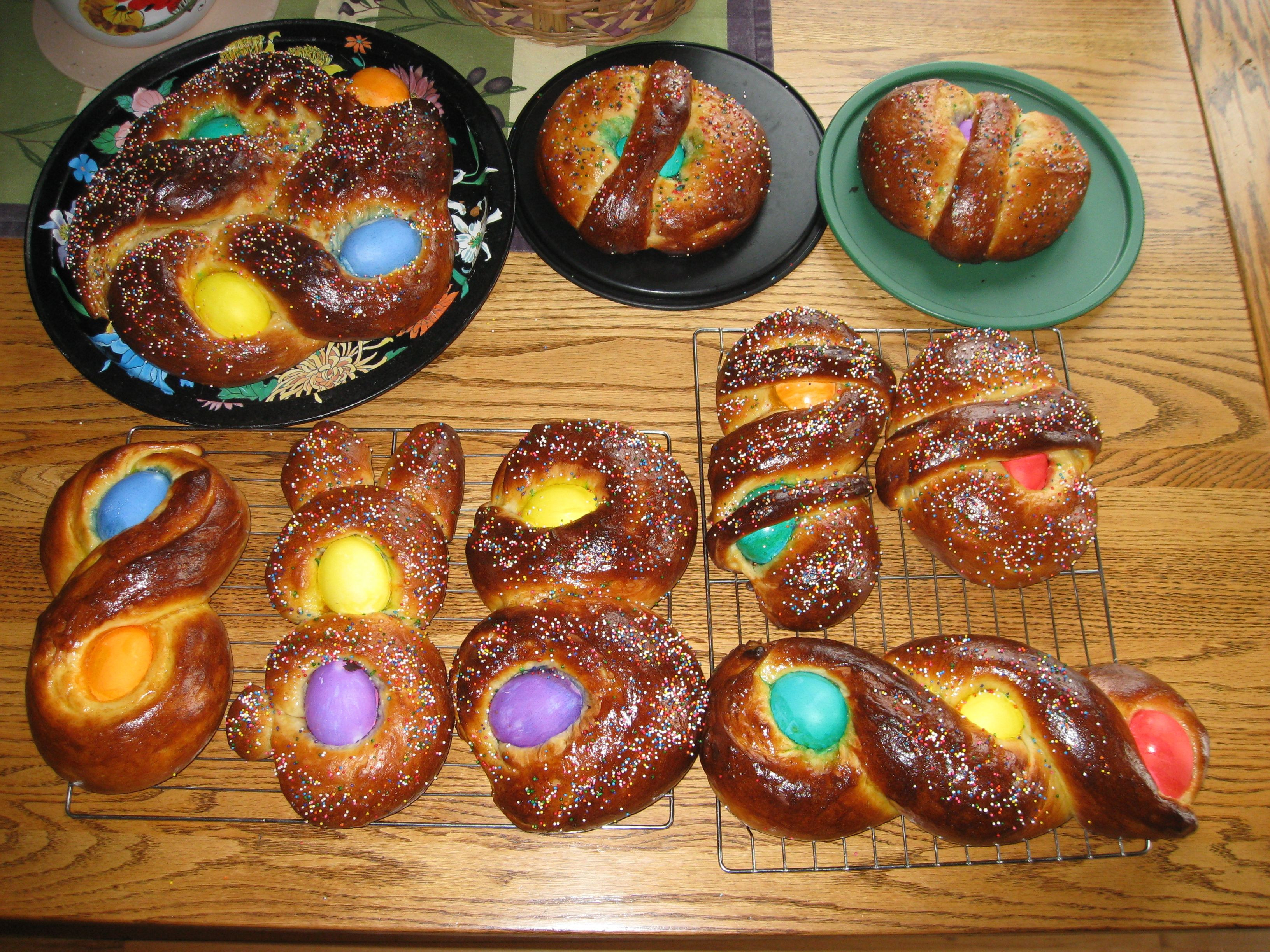 Sicilian Easter Bread  Italian Easter Bread Pane di Pasqua