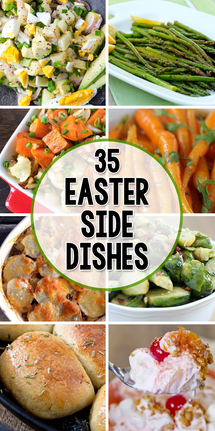 Side Dish For Easter Dinner  35 Side Dishes for Easter Yellow Bliss Road