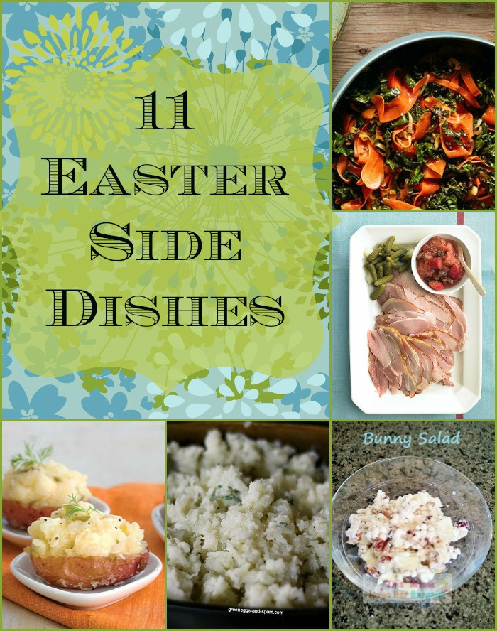 Side Dish For Easter Dinner  11 Easter Side Dishes to Consider Cooking in Bliss
