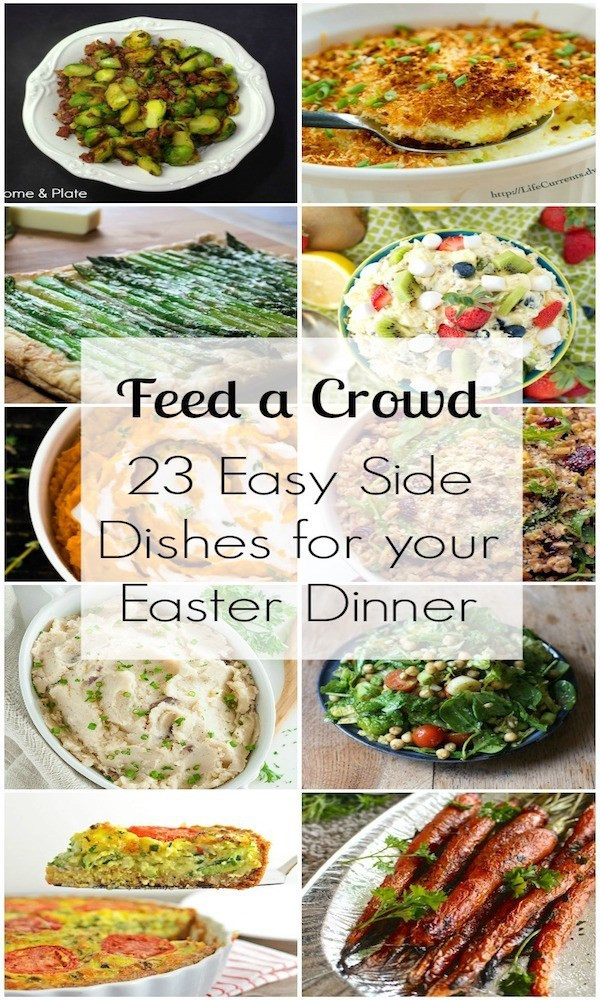 Side Dish For Easter Dinner  23 Easy Side Dishes – Edible Crafts