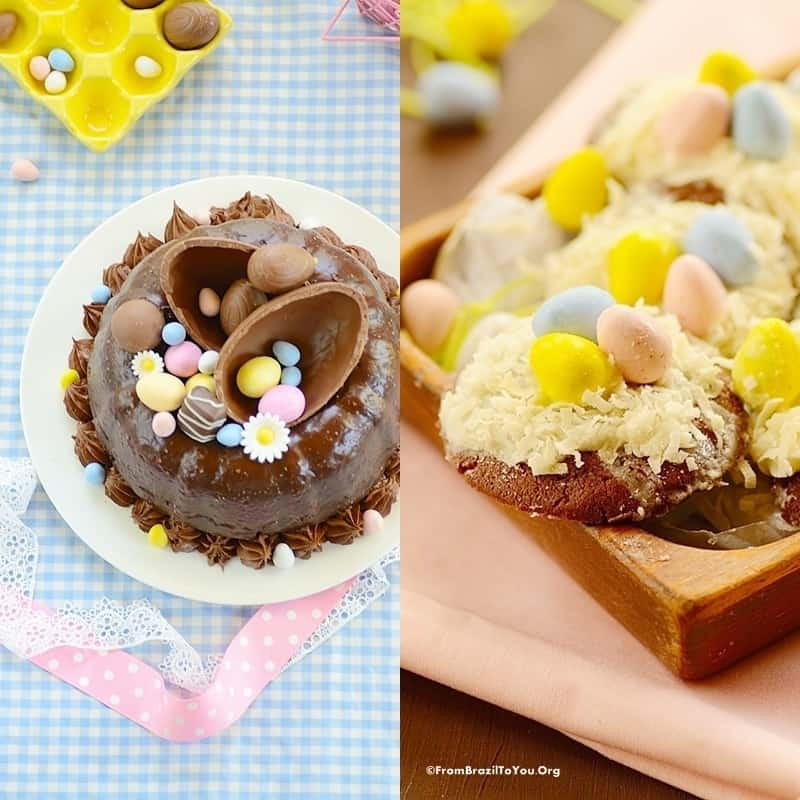 Simple Easter Desserts  6 Ingre nt Easy Easter Cookie Bars Easy and Delish