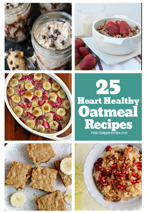 Simple Heart Healthy Recipes  healthy oatmeal recipes for breakfast