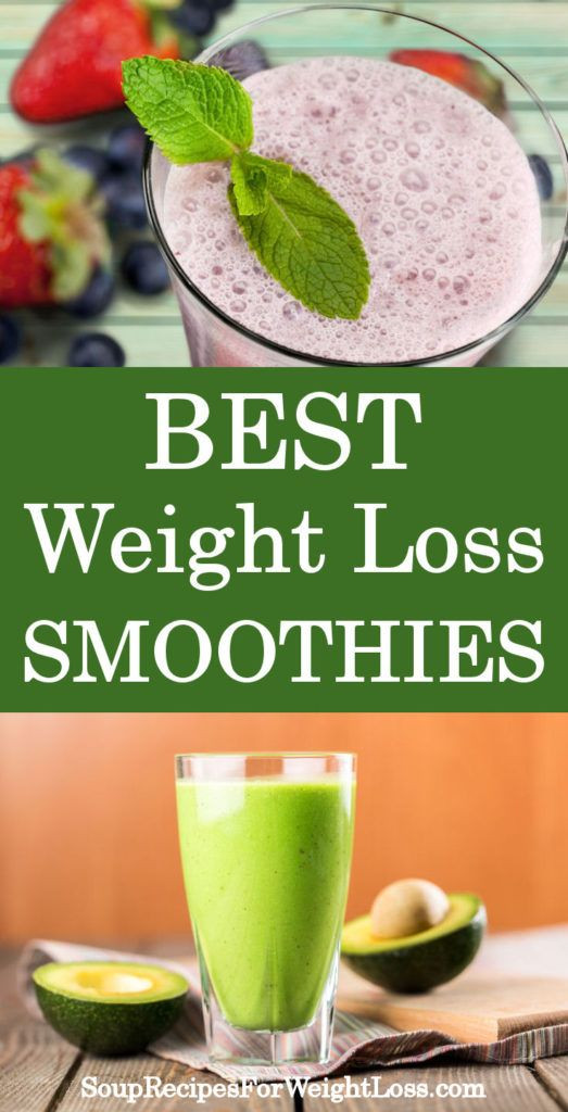 Simple Smoothie Recipes For Weight Loss  Best Weight Loss Smoothie Recipes