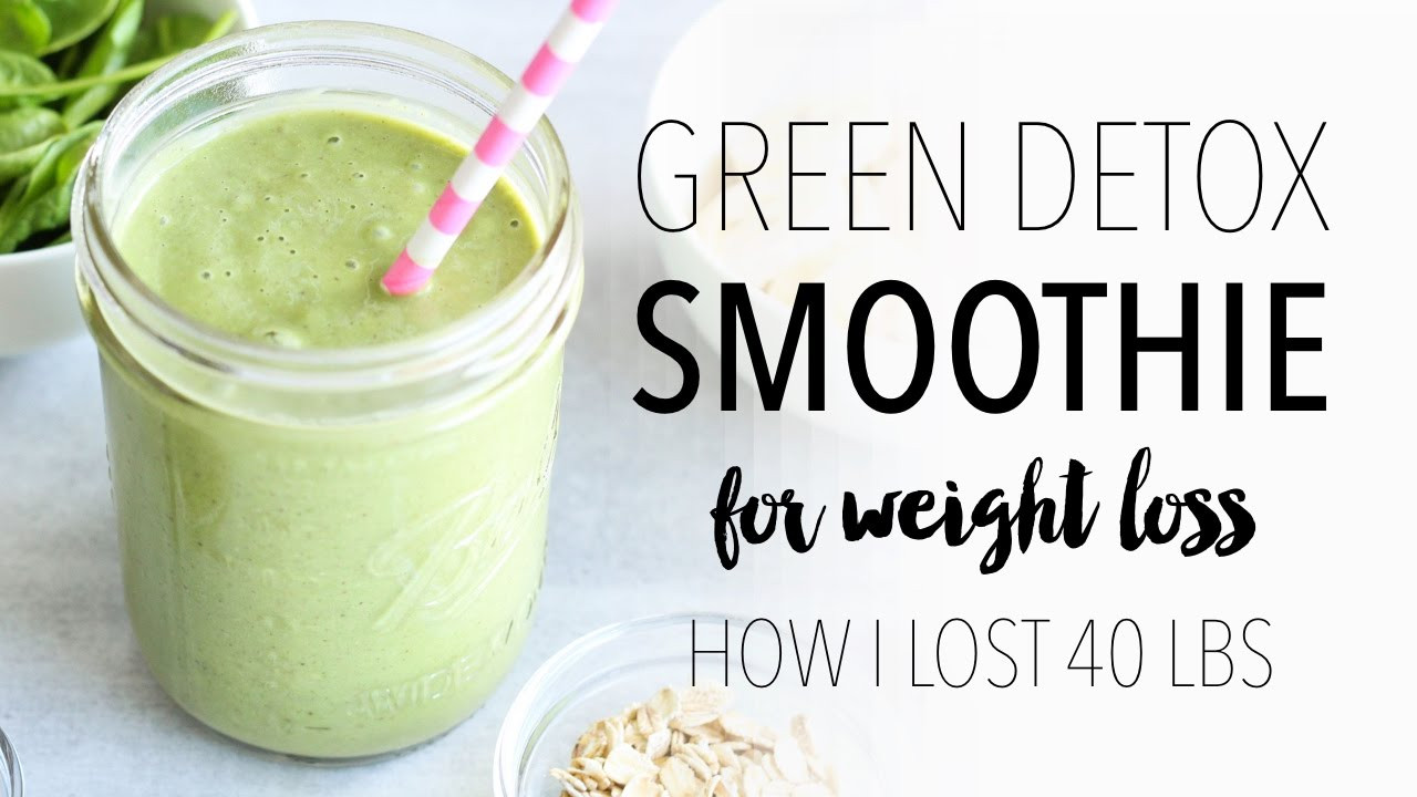 Simple Weight Loss Smoothies  GREEN SMOOTHIE RECIPE FOR WEIGHT LOSS