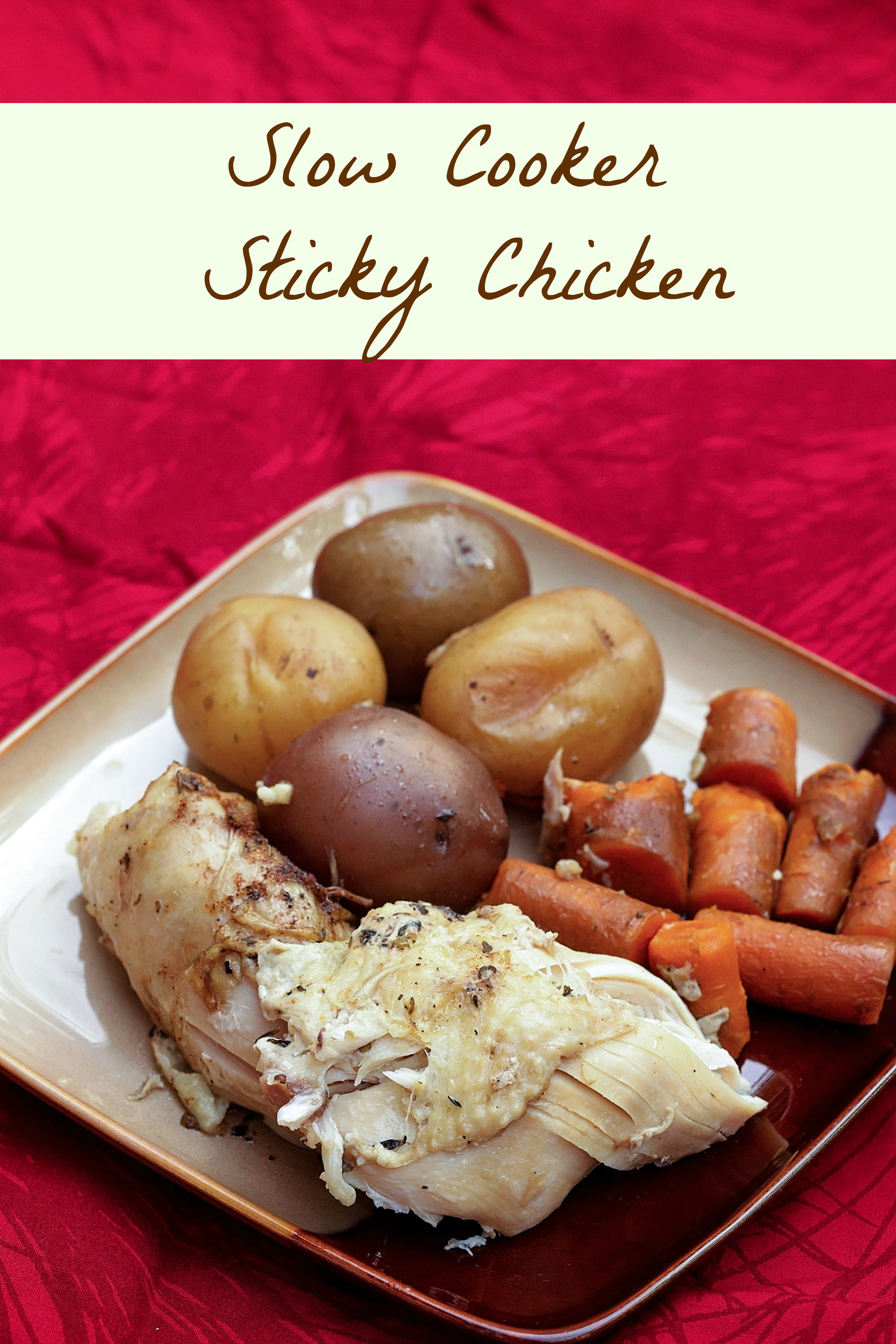 Slow Cooker Low Fat Recipes  Low Fat Slow Cooker Sticky Chicken Recipe SoFabFood