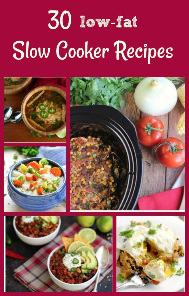 Slow Cooker Low Fat Recipes  30 Healthy Slow Cooker Recipes Healthy Crockpot Meals