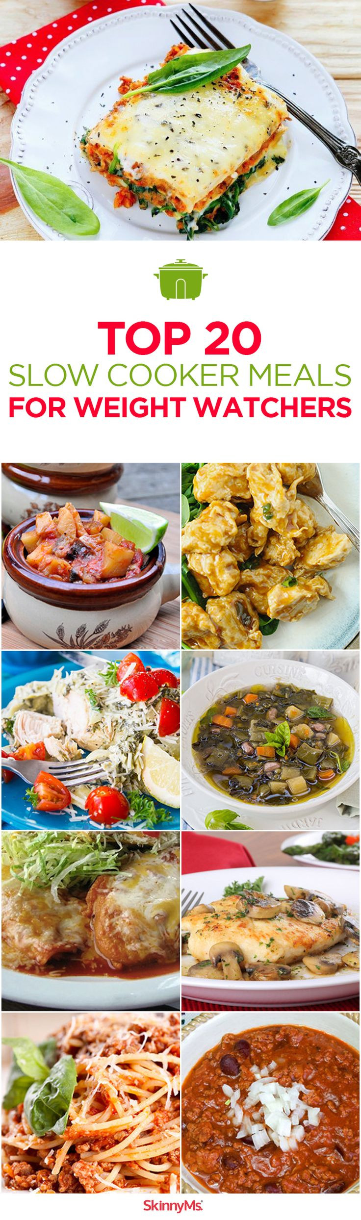 Slow Cooker Recipes For Weight Loss  Top 20 Slow Cooker Meals for Weight Watchers