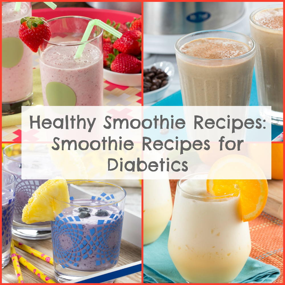 Smoothie Recipes For Diabetics  breakfast smoothie recipes for diabetics