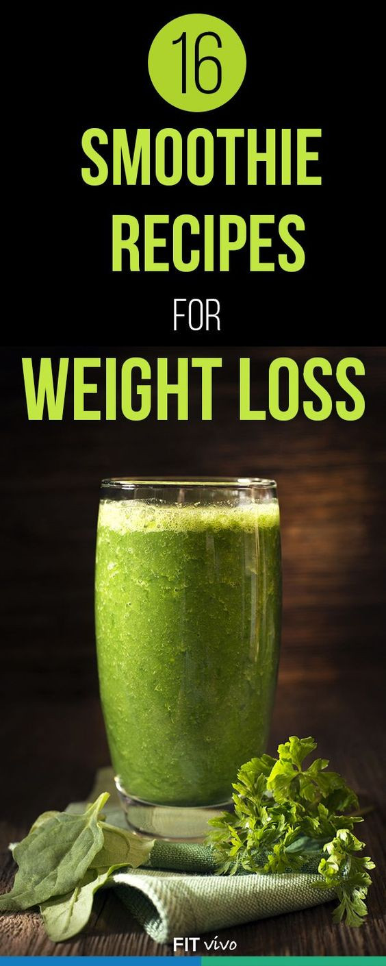 Smoothie Weight Loss Recipes  16 Healthy Smoothie Recipes for Weight Loss