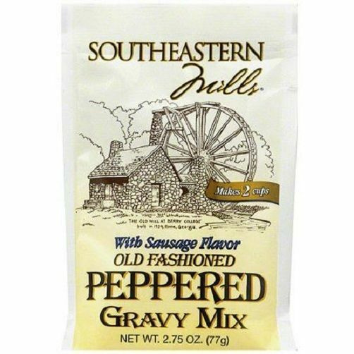 Southeastern Mills Gravy Mix  Southeastern Mills Old Fashioned Peppered Gravy Mix Packet