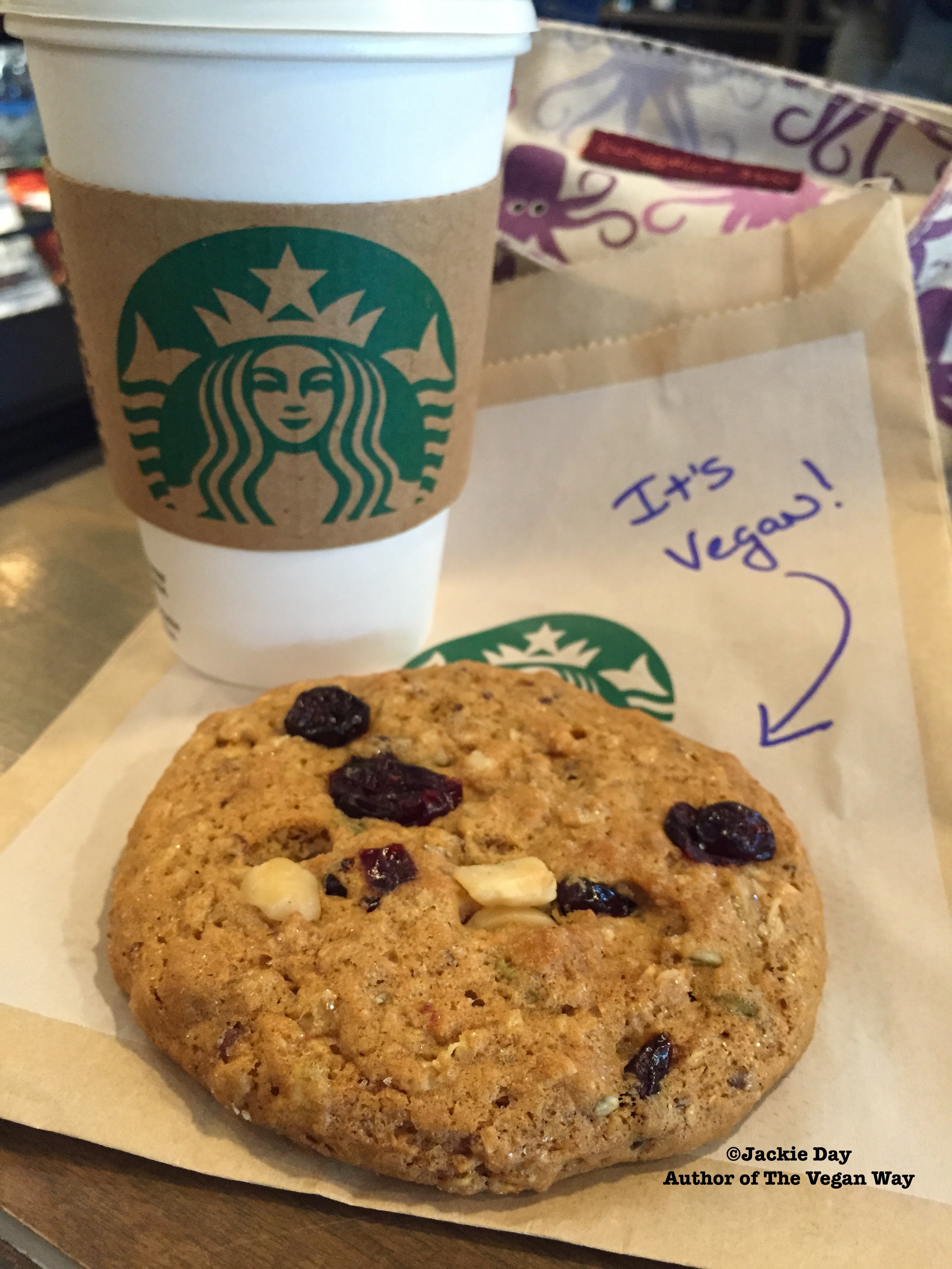 Starbucks Vegan Pastries  BREAKING Vegan Cookies at Starbucks Nationwide Thanks To