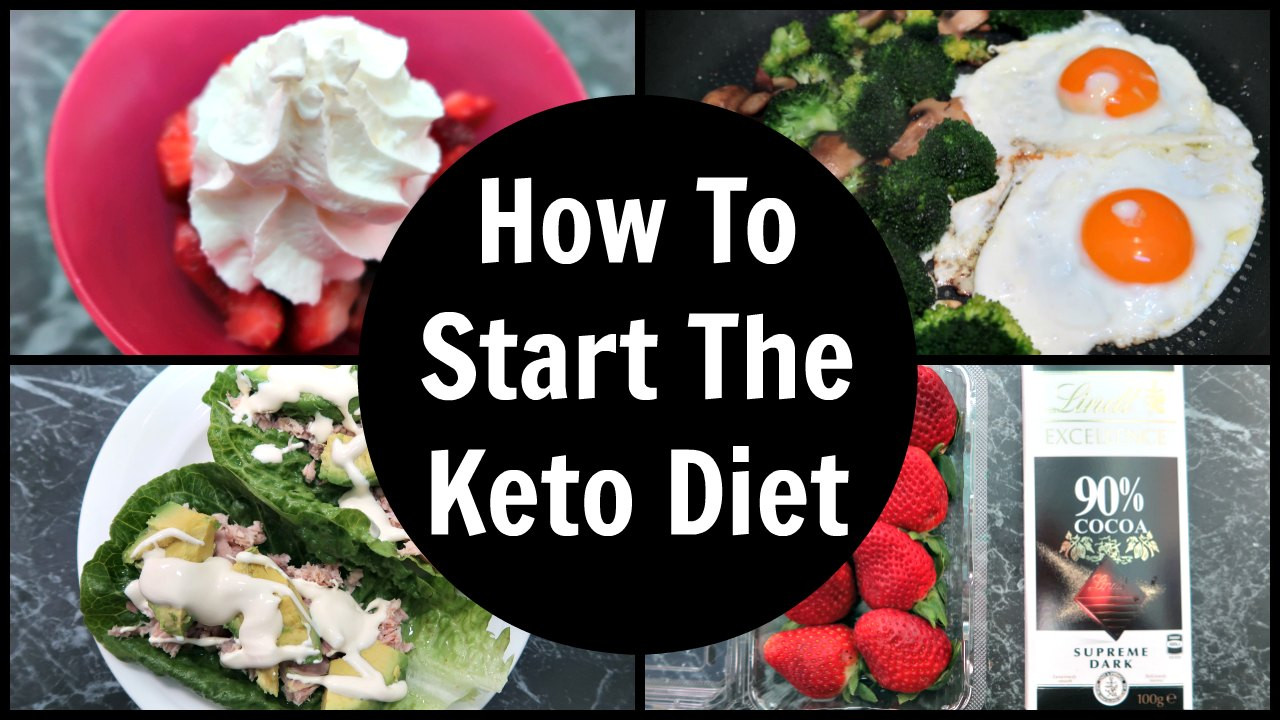 Starting Keto Diet  How To Start The Keto Diet Tips to help you started