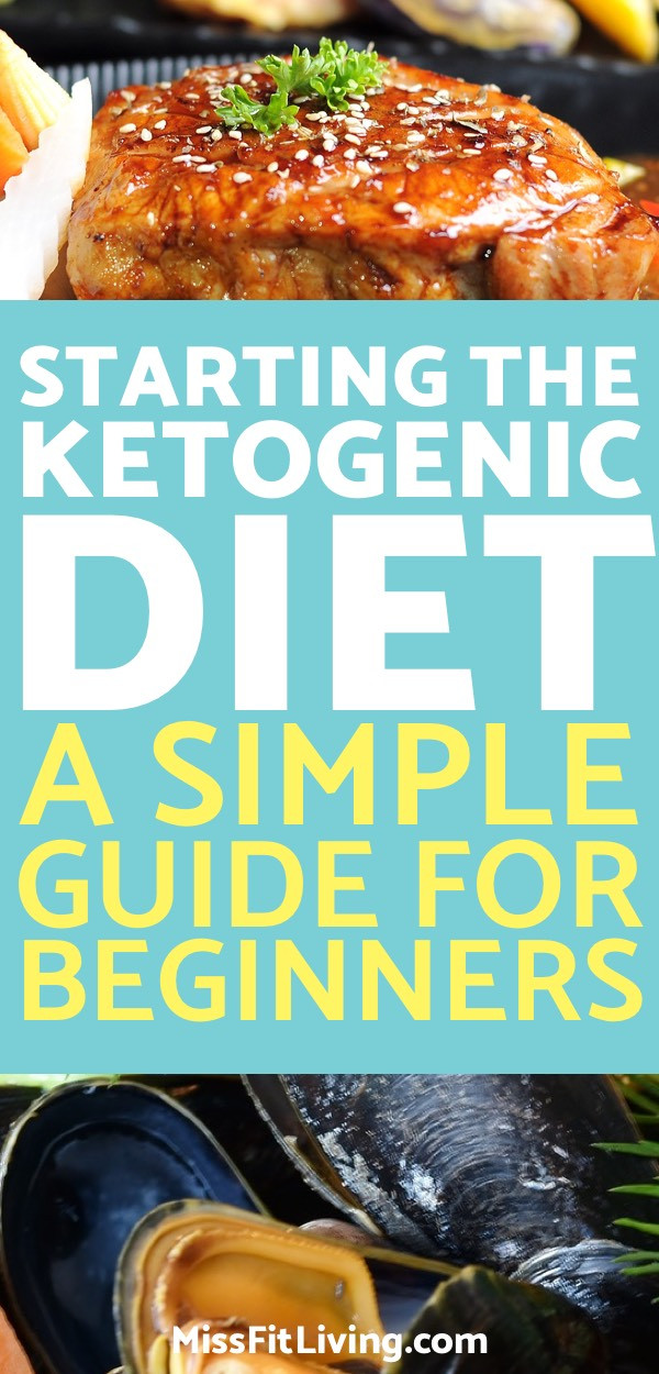 Starting Keto Diet  Starting the Ketogenic Diet A Simple Guide for Beginners