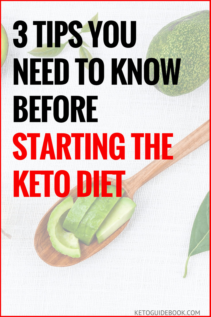 Starting Keto Diet  3 Tips You Need To Know Before Starting The Keto Diet