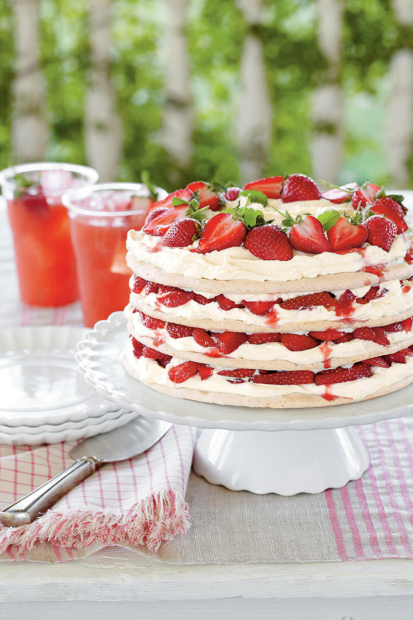 Strawberry Easter Desserts  Divine Easter Dessert Recipes Southern Living