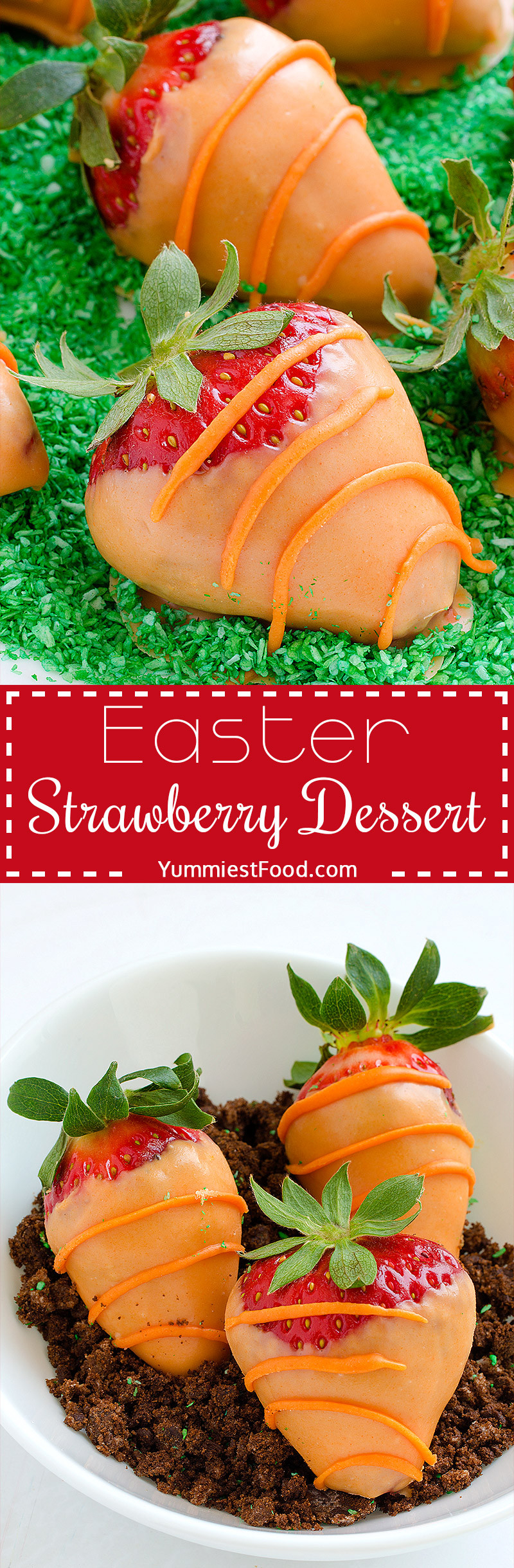 Strawberry Easter Desserts  Easter Strawberry Dessert Recipe from Yummiest Food Cookbook