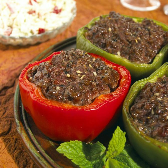 Stuffed Bell Peppers Low Carb  Low Carb Stuffed Bell Pepper