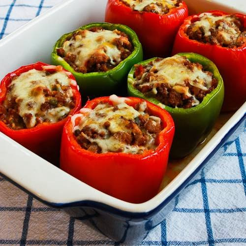Stuffed Bell Peppers Low Carb  20 Delicious Low Carb and Keto Casserole Recipes Kalyn