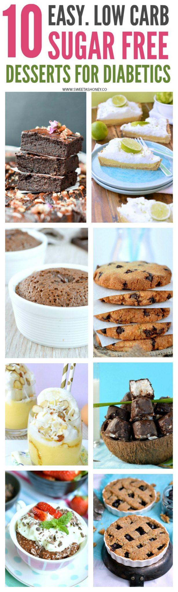 Sugar Free Desserts Recipes For Diabetics  10 Sugar Free Desserts for diabetics Sweetashoney