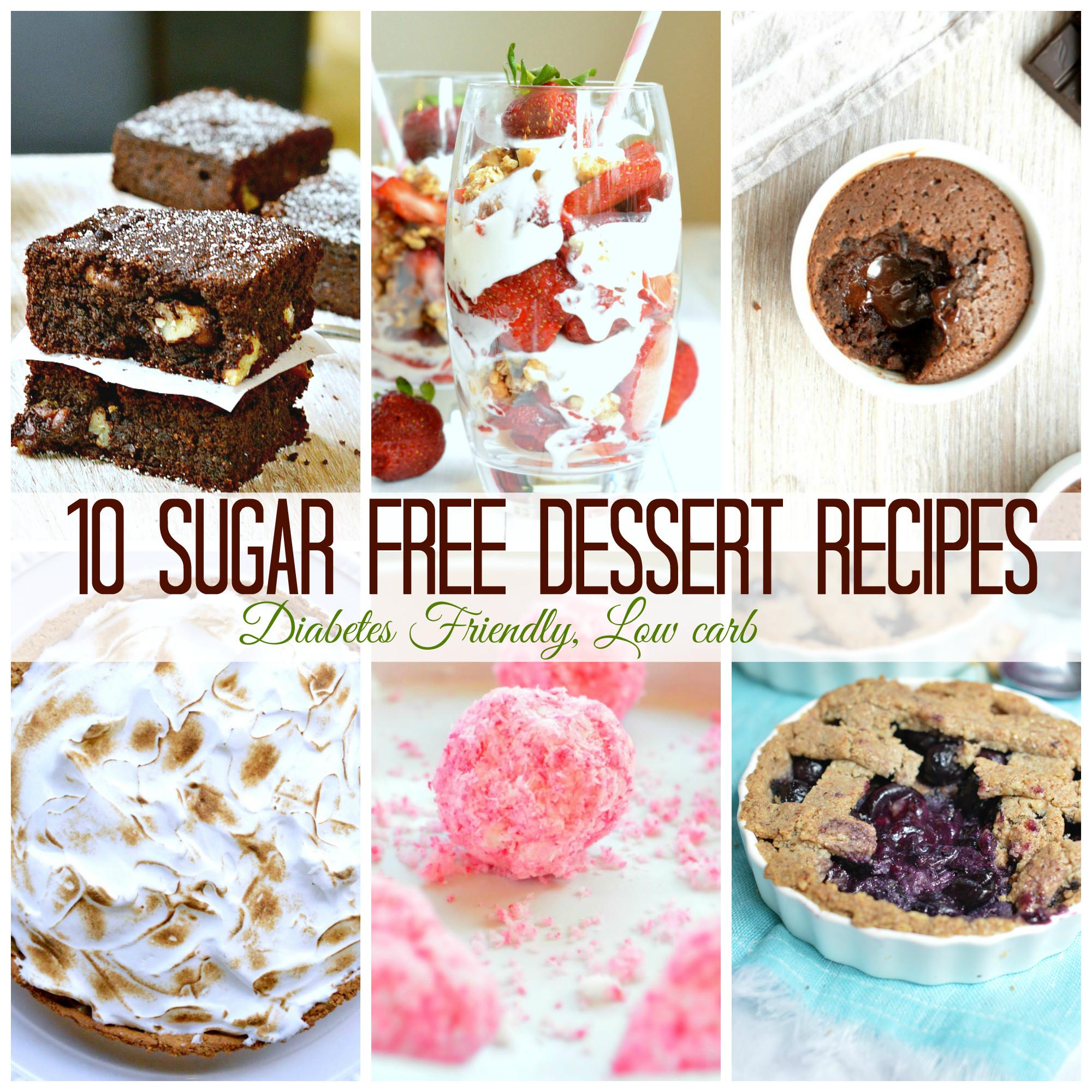 Sugar Free Desserts Recipes For Diabetics  10 Sugar Free Dessert for diabetics SWEETASHONEY