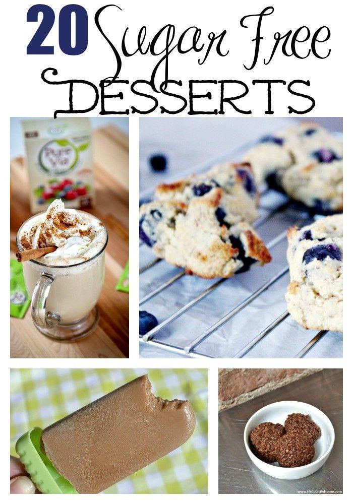 Sugar Free Diabetic Desserts  20 Sugar Free Desserts