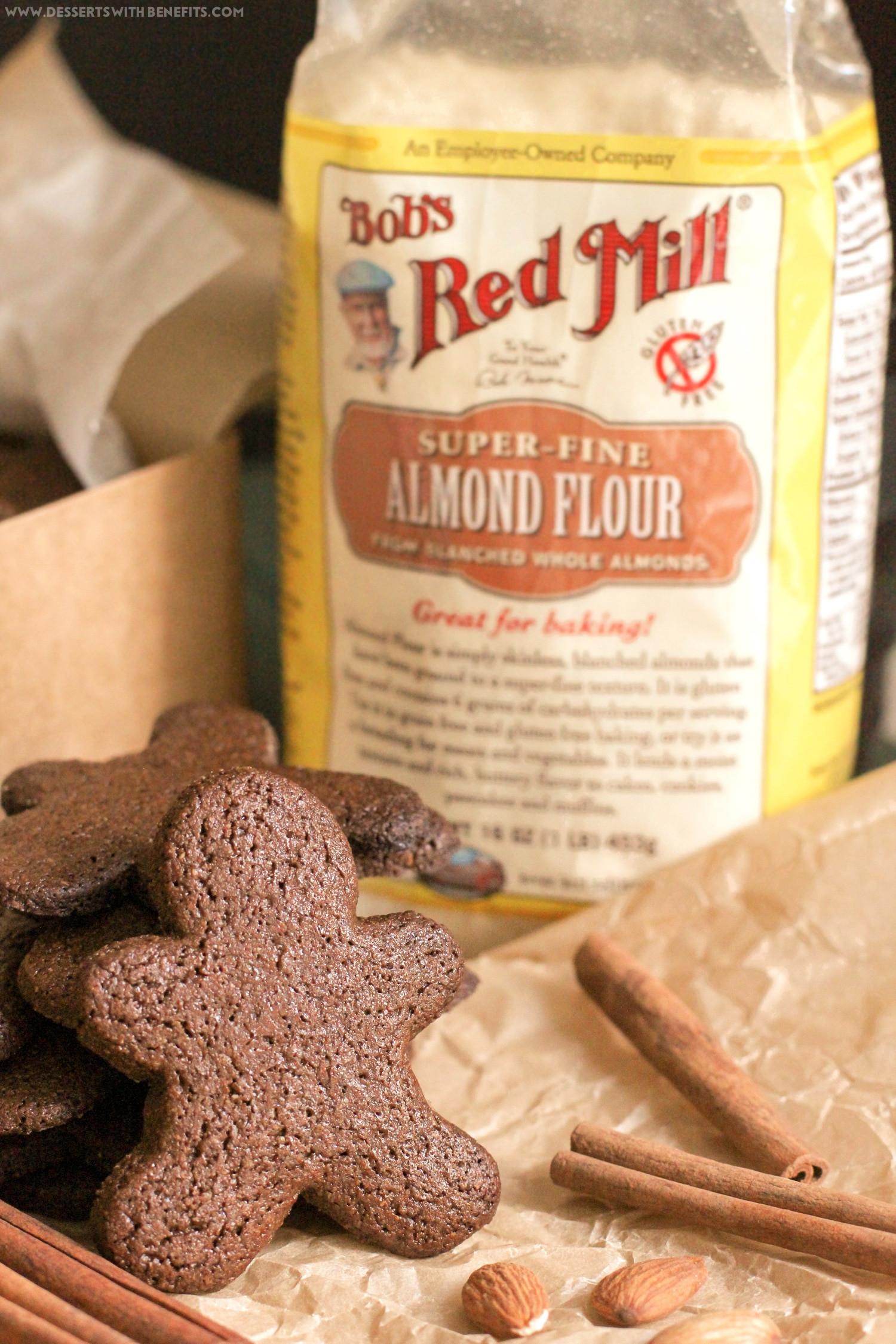 Sugar Free Gluten Free Dessert  Desserts With Benefits Healthy Gingerbread Cookies recipe