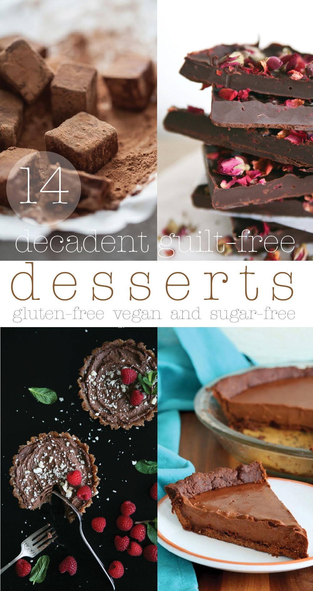Sugar Free Gluten Free Dessert  14 Decadent Guilt free sugar free Desserts Pure Ella