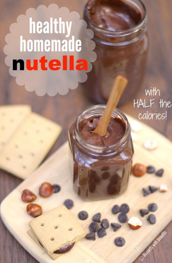 Sugar Free Gluten Free Dessert  Healthy Homemade Nutella sugar free low fat low calorie