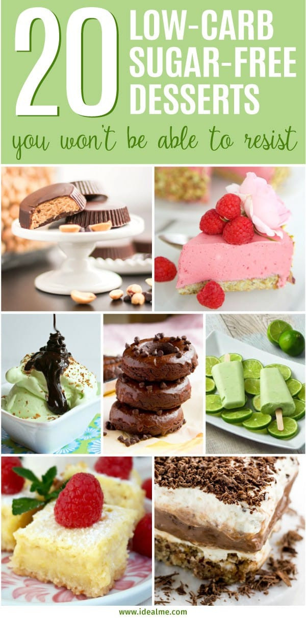 Sugar Free Low Carb Desserts For Diabetics  20 Best Low Carb Sugar Free Dessert Recipes Ideal Me