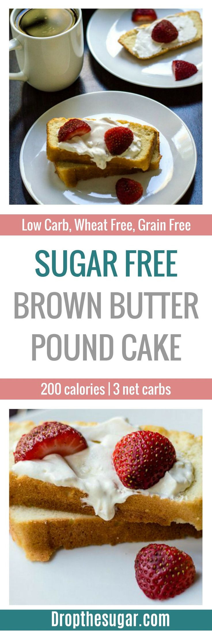Sugar Free Low Carb Desserts For Diabetics  Sugar Free Brown Butter Pound Cake