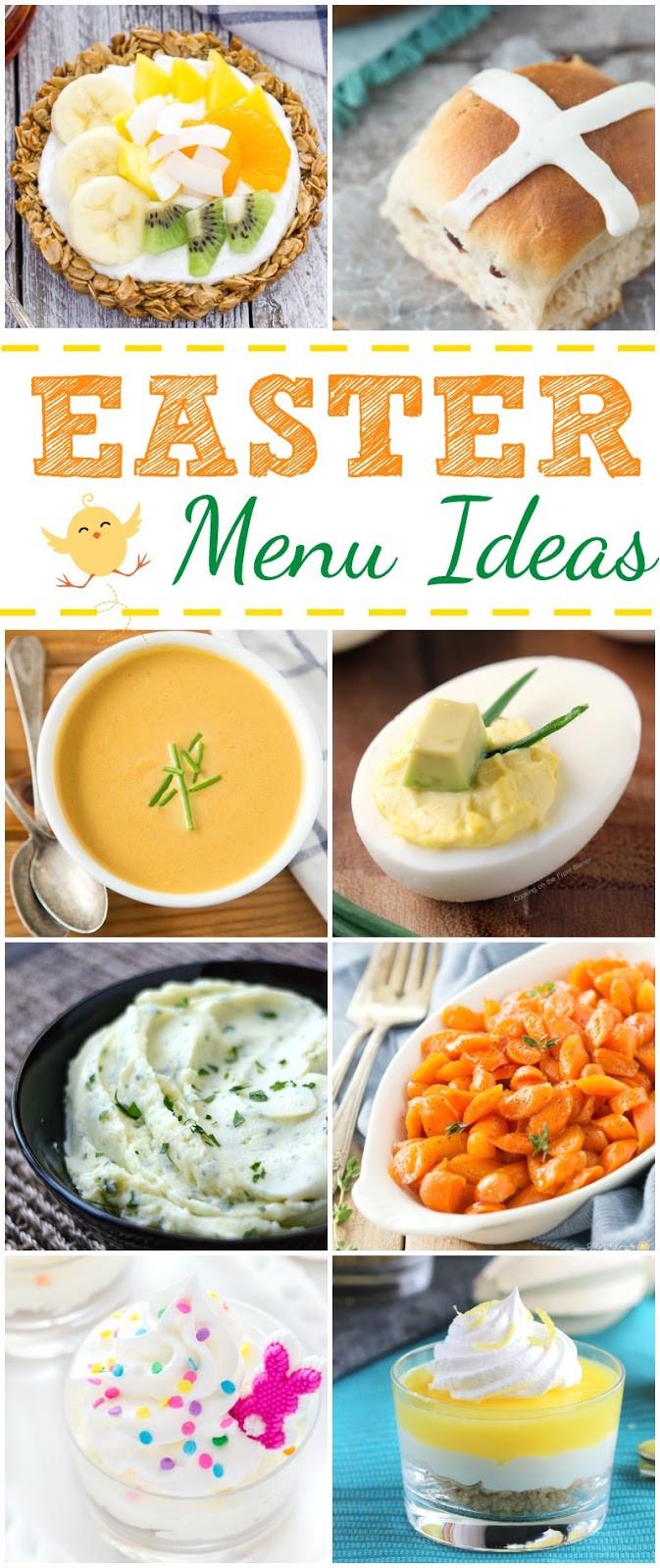 Suggestions For Easter Dinner Menu  Easter Menu Ideas