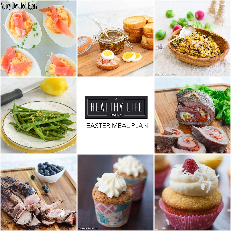 Suggestions For Easter Dinner Menu  Elegant Easter Menu A Healthy Life For Me