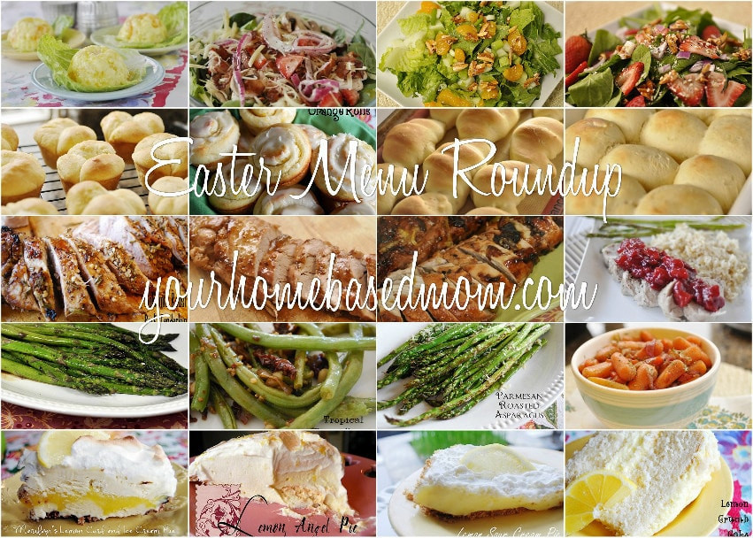 Suggestions For Easter Dinner  Easter Menu Roundup
