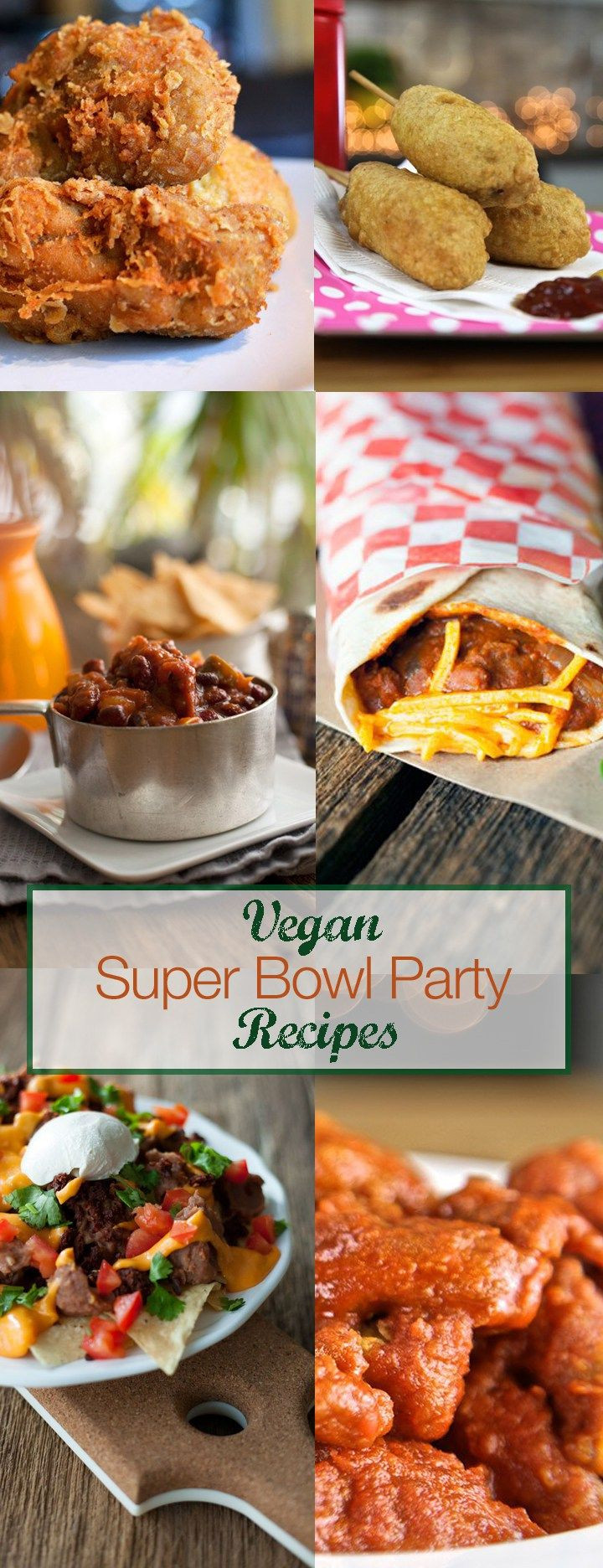 Super Bowl Vegan Recipes  98 best images about Sports on Pinterest
