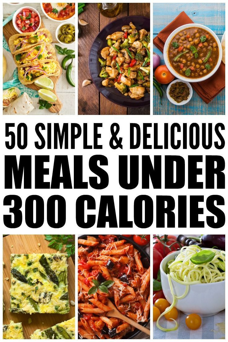 Super Low Calorie Dinners  50 Meals Under 300 Calories How to Lose Weight Without