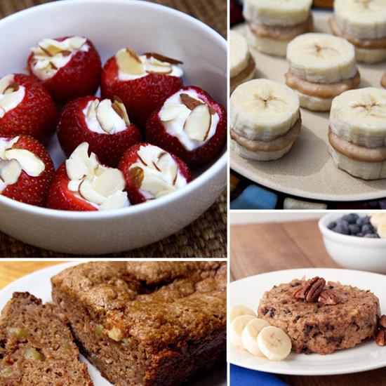 Sweet Healthy Snacks  Healthy Banana Recipes