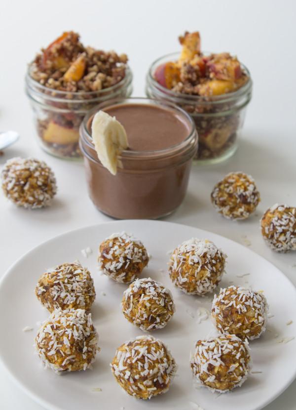 Sweet Healthy Snacks  Six Easy Delicious & Healthy Vegan Snacks