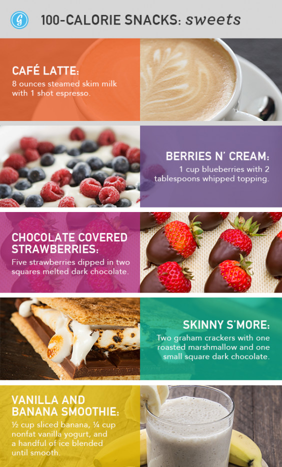 Sweet Healthy Snacks  Low Calorie Snacks 88 Unexpected Snacks Under 100