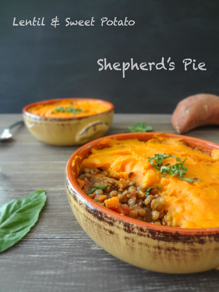 Sweet Potato Shepherd'S Pie Vegetarian  Vegan Lentil Shepherd s Pie Recipe